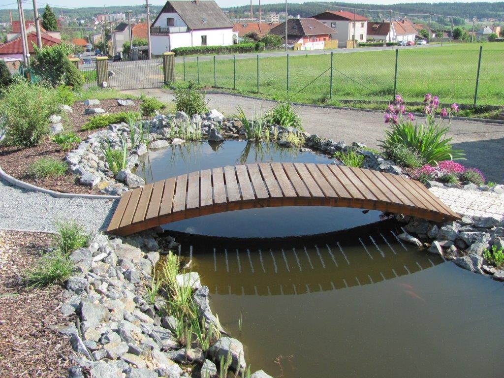Bazény, jezírka okrasná i koupací 2