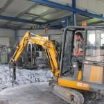 Demolice betonů a podlah v halách 2